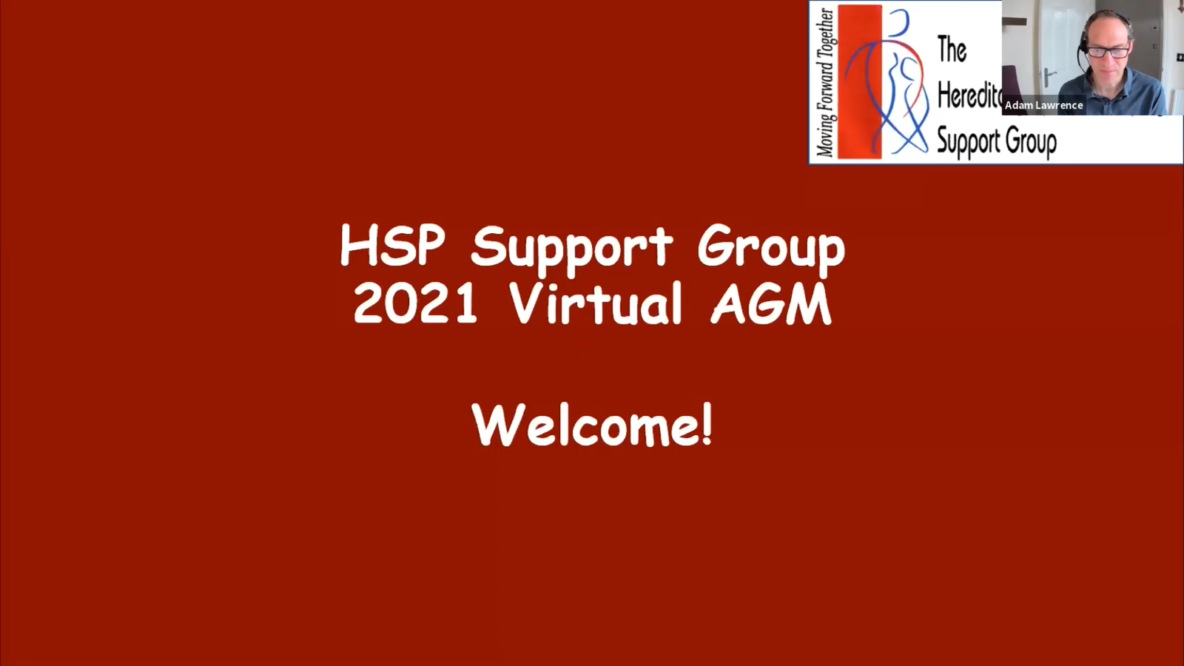 HSP Support Group 2021 Virtual AGM